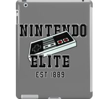 college shirt nintendo iPad Case/Skin
