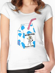 Toxic Milk Women's Fitted Scoop T-Shirt