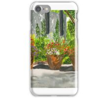 Sunny Day Shadows Watercolor iPhone Case/Skin