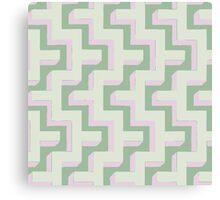 Cap Gun Geometric Pattern Canvas Print