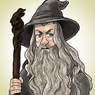 Gandalf by quietsnooze