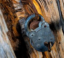 door lock key by Beth A