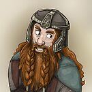 Gimli by quietsnooze