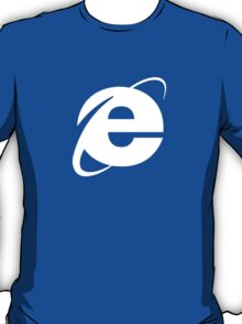 Internet Explorer: A More Beautiful Web T-Shirt