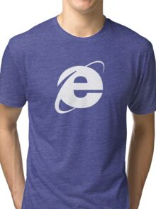 Internet Explorer: A More Beautiful Web Tri-blend T-Shirt