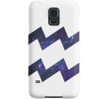 Purple Broccoli [White Outline] | Age of Aquarius Samsung Galaxy Case/Skin