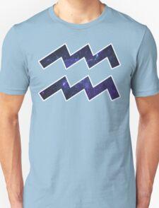 Purple Broccoli [White Outline] | Age of Aquarius T-Shirt