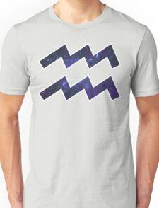 Purple Broccoli [White Outline] | Age of Aquarius Unisex T-Shirt