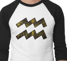 Heart Chakra of a Butterfly | Age of Aquarius Men's Baseball ¾ T-Shirt