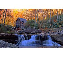 Glade Creek Gristmill Photographic Print