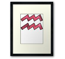 The Ever-Playful Mew | Age of Aquarius Framed Print