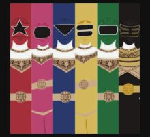 Power Rangers Zeo T-Shirt by simplepete