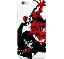 Venom & Carnage double silhouettes  iPhone Case/Skin