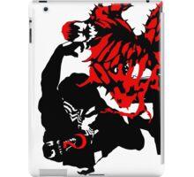 Venom & Carnage double silhouettes  iPad Case/Skin