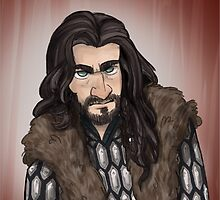 Thorin Oakenshield by quietsnooze