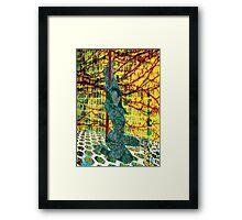 Billabong_Dancer Framed Print