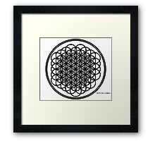 Circle of Life/Rings of Life Framed Print