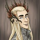 Thranduil by quietsnooze