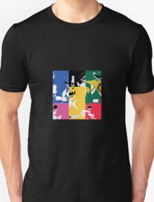 Mighty Morphin Power Rangers T-Shirt Unisex T-Shirt