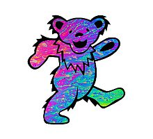 Grateful Dead Dancing Bear Trippy by Budnick3000