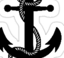 Abandon Ship Anchor Sticker