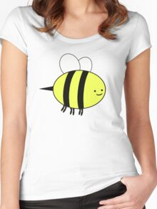 The Bee. Women's Fitted Scoop T-Shirt