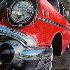 '57 Chevy in Color Pencil by Kyle Hudak
