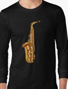 Saxophone Gold  Long Sleeve T-Shirt