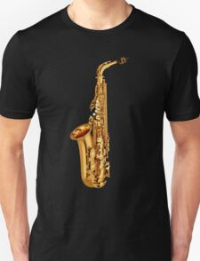 Saxophone Gold  T-Shirt