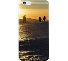 Glacial Sunset iPhone Case/Skin