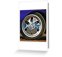 Rolling Thunder Greeting Card