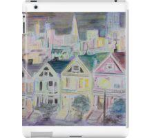 san francisco houses iPad Case/Skin
