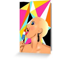 Bomb Pop Greeting Card
