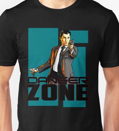 archer the danger zone Unisex T-Shirt