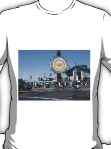Fishermans Wharf San Francisco California T-Shirt