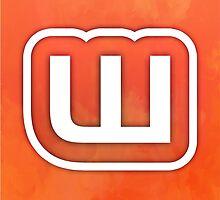 Textured Wattpad Logo by sophiehamlin