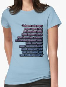 The Big Bang Theory - The Lizard-Spock Expansion Womens Fitted T-Shirt