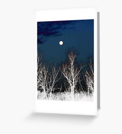 The Moon--Tarot Major Arcana Greeting Card