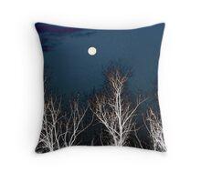 The Moon--Tarot Major Arcana Throw Pillow
