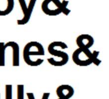 Midsomer Murders - Helvetica List Sticker