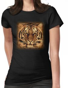 Tiger Fine Art Womens Fitted T-Shirt