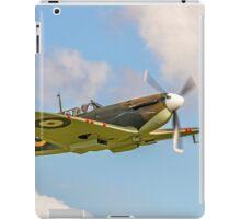 Supermarine Spitfire Ia AR213 G-AIST iPad Case/Skin