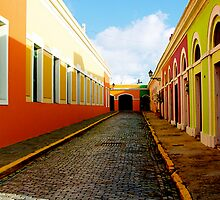 Old San Juan Colors by picart