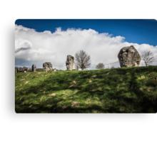 Avebury Henge Stones Canvas Print