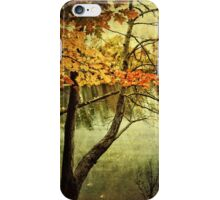 A Tranquil  Autumn Day iPhone Case/Skin