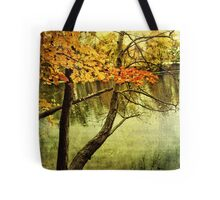 A Tranquil  Autumn Day Tote Bag
