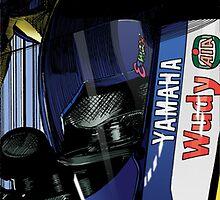 James Toseland - Tech3 Yamaha by quigonjim