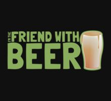 I'm the FRIEND with BEER by jazzydevil