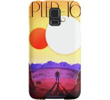 Nasa Travel Poster-Kepler-16b Samsung Galaxy Case/Skin