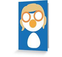 Minimalistic Pororo Greeting Card